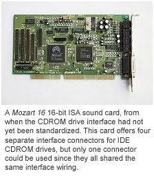 Mozart 16 ISA sound card